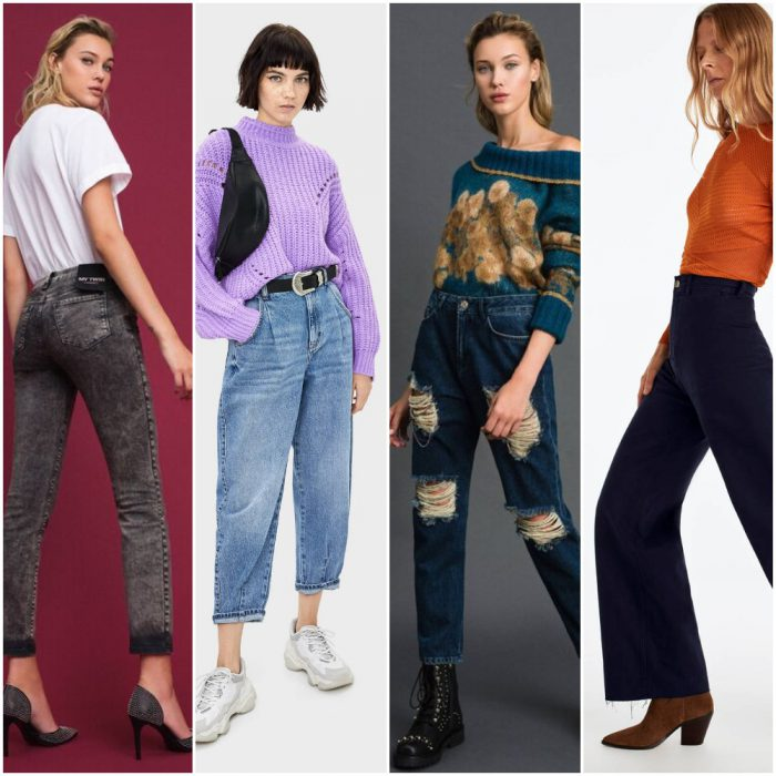 Jeans de moda para mujer invierno 2020