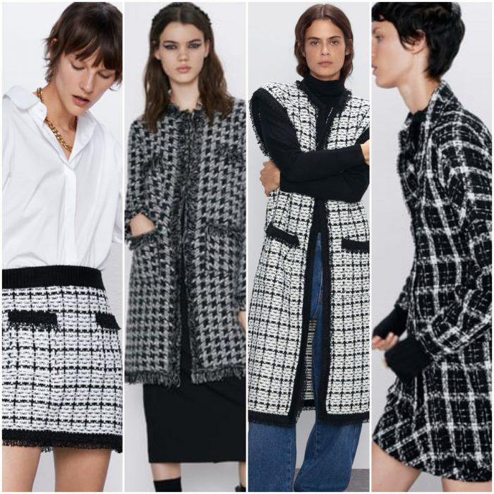 Prendas de Tweed moderno para mujer invierno 2020 Tendencias