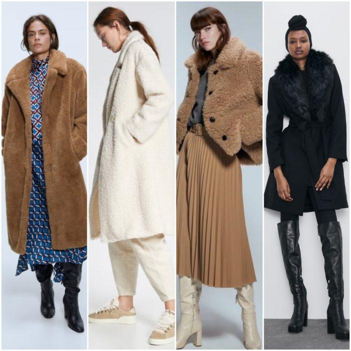 Prendas de pelo sintetico para mujer invierno 2020 Tendencias
