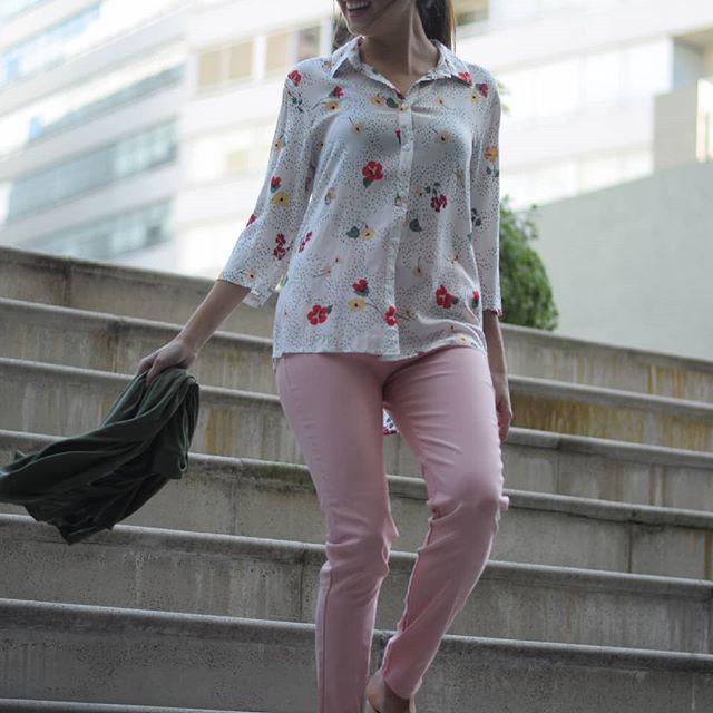 camisas estampadas para mujer Normandie verano 2020