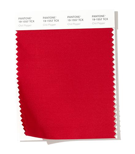 rojo picante Chili Pepper Color de moda otoño invierno 2020