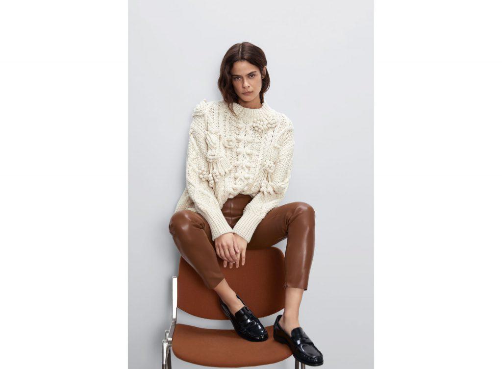 tonos marrones de moda invierno 2020 zara