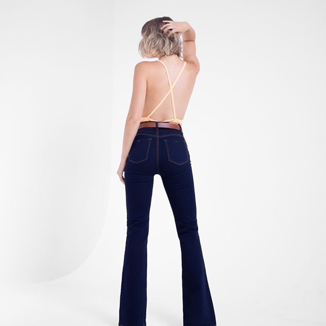 Vertu Jeans oxford azul otoño invierno 2020
