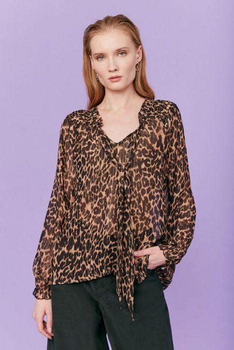 blusa animal print Rapsodia otoño invierno 2020