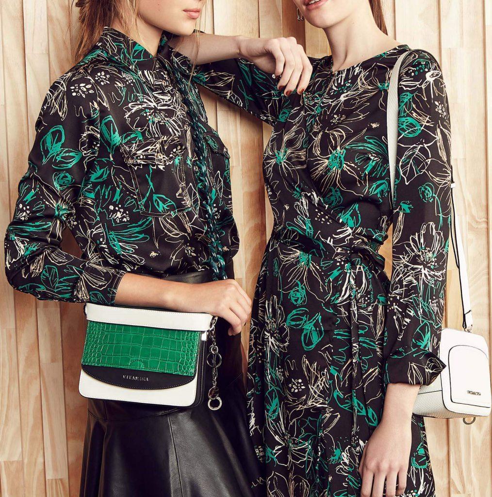 blusas y vestidos urbanos estampados Vitamina otoño invierno 2020