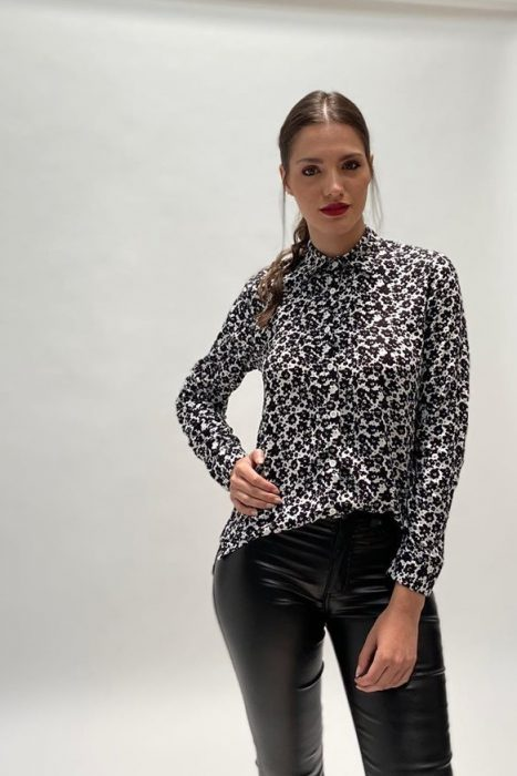 camisa estampada mujer okoche invierno 2020