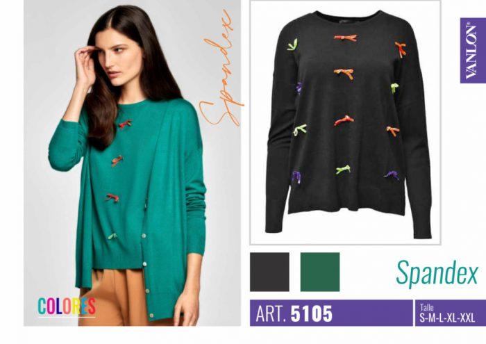 cardigans y sweaters hilo con spandex Vanlon otoño invierno 2020