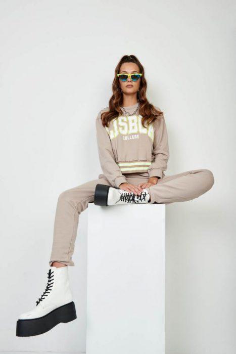 conjunto buzo top y pantalon 47 street otoño invierno 2020