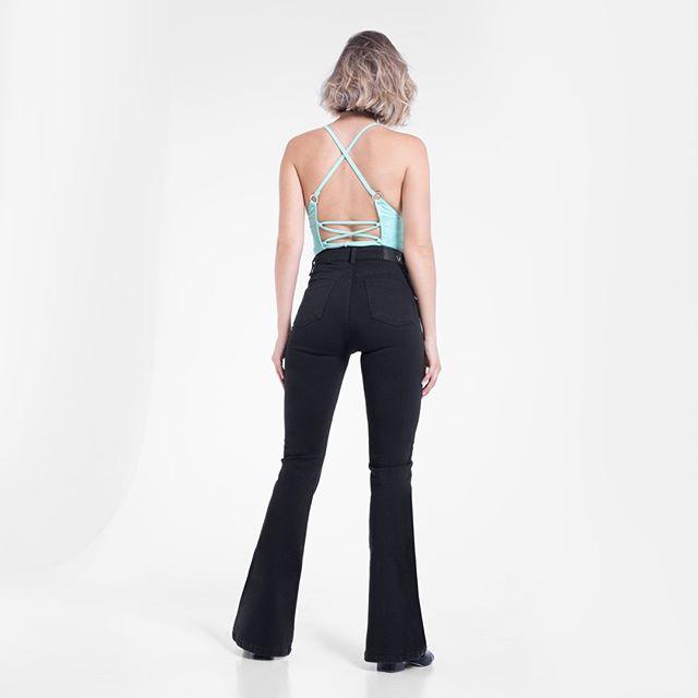 jeans oxford negro juvernil Vertu Jeans otoño invierno 2020