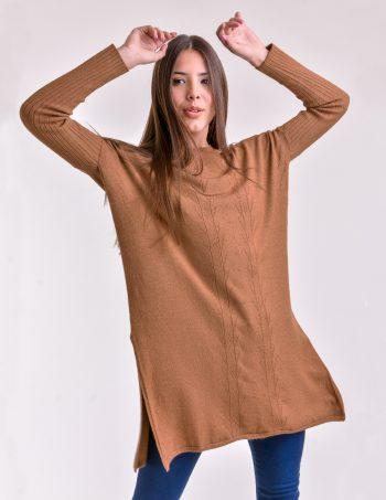 sweater largo mujer tejidos mauro sergio invierno 2020