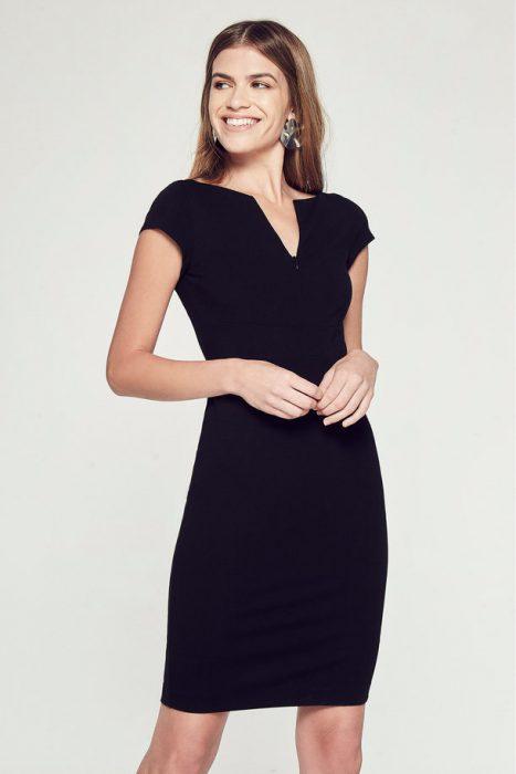 vestido de corte sastrero Markova otoño invierno 2020