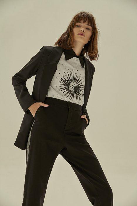 Coleccion Tierra 316 otoño invierno 2020 traje para mujer