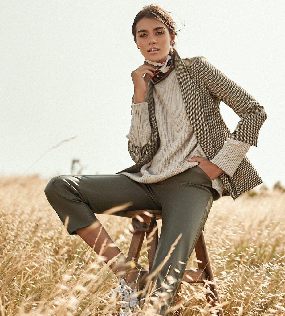 Look casual y elegante para mujer invierno 2020