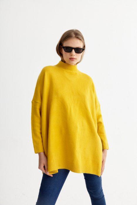 St Marie buzo holgado tejido en lana juvenil invierno 2020