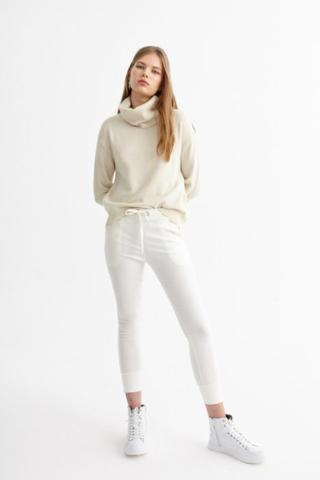 St Marie pantalon blanco juvenil invierno 2020