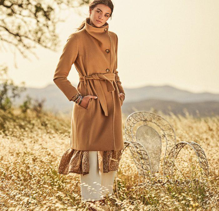 Tapado camel para mujer invierno 2020 Kill