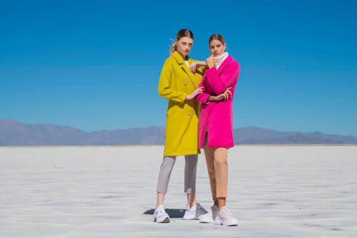 Tapados colores alegres otoño invierno 2020 Caviar MCM