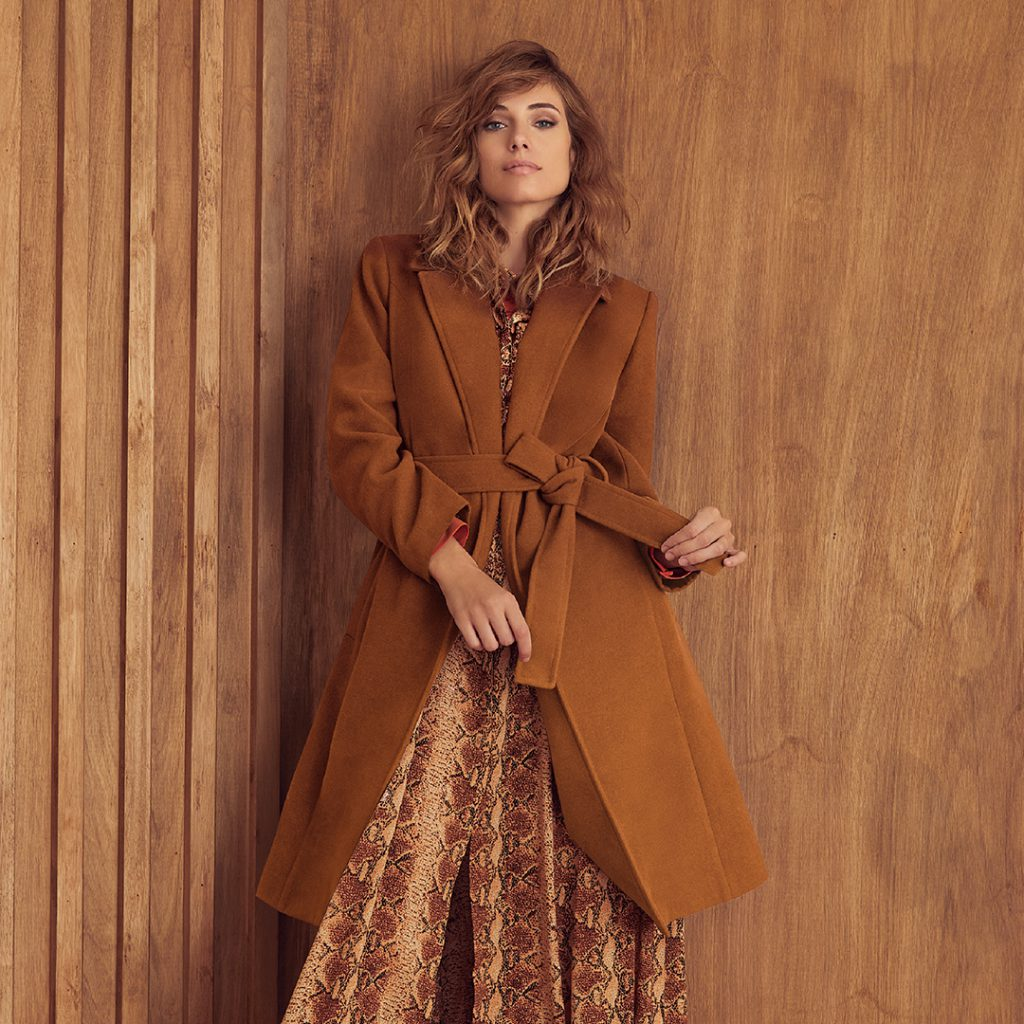 Ted Bodin Look moderno para mujer invierno 2020