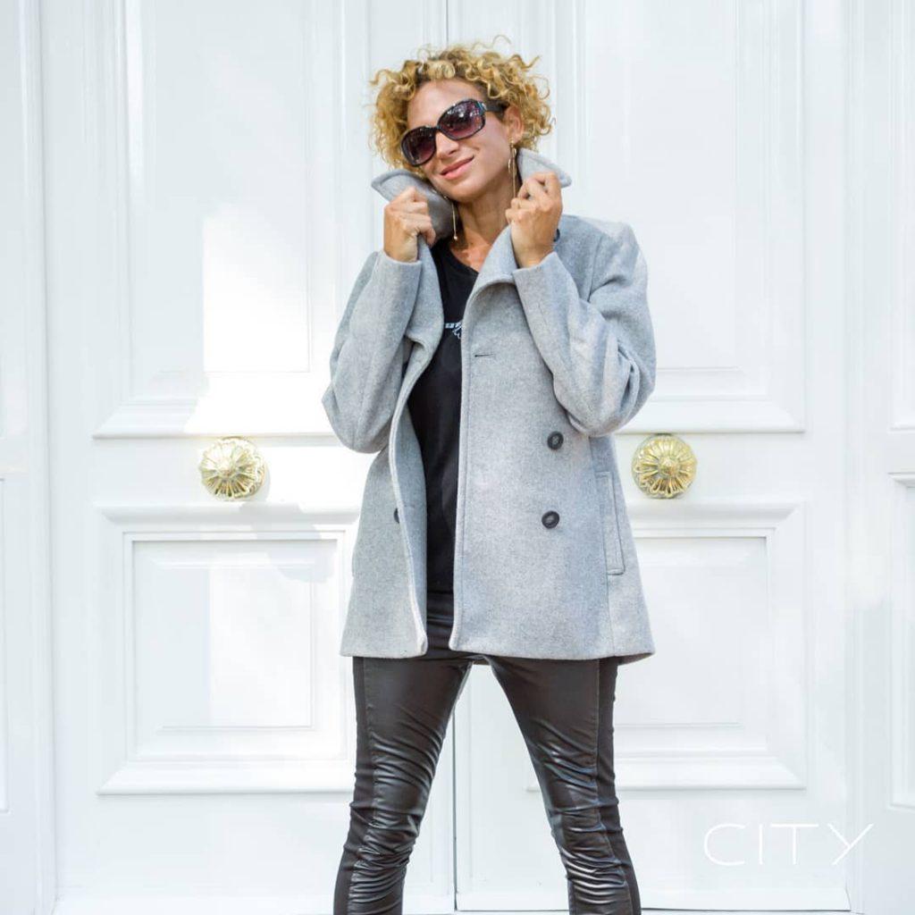 calzas engomadas y tapados para señoras City Jenifer invierno 2020