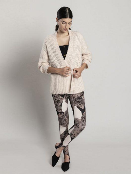 calzas estampadas asterisco invierno 2020