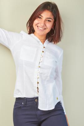 camisa blanca kevingston mujer invierno 2020