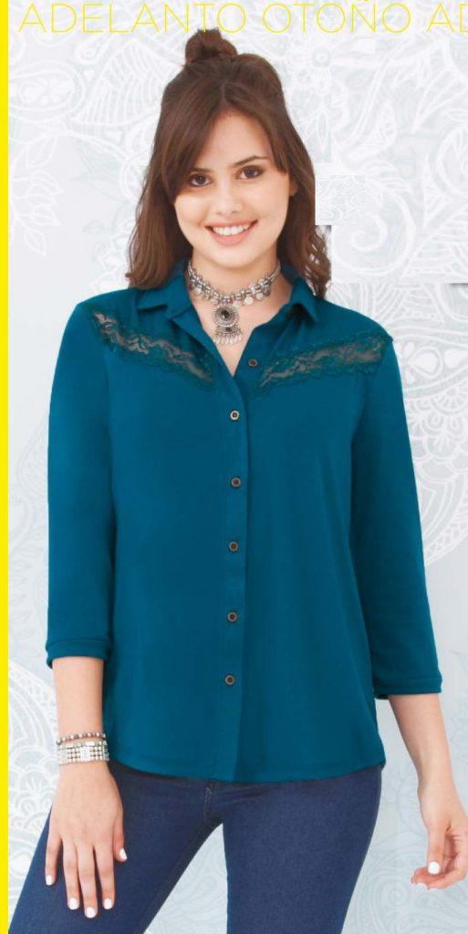 camisa mujer Juana bonita otoño invierno 2020