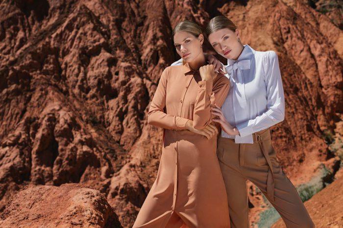 camisas para mujer otoño invierno 2020 Caviar MCM