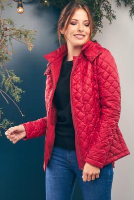 campera roja kevingston mujer invierno 2020