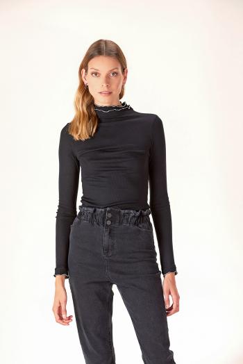 jeans con cintura elastizada ossira invierno 2020
