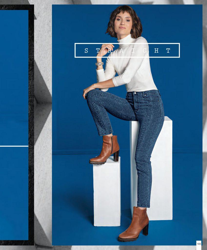 jeans mujer martina di trento otoño invierno 2020