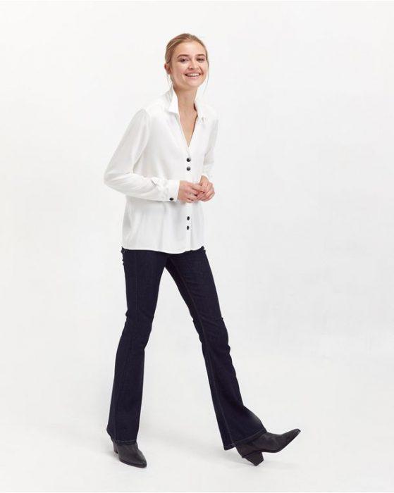 jeans oxford y camisas para señoras invierno 2020 PORTSAID