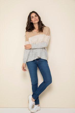 jeans y sweater Yagmour otoño invierno 2020