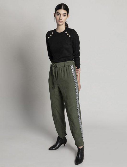 outfit con babucha asterisco invierno 2020