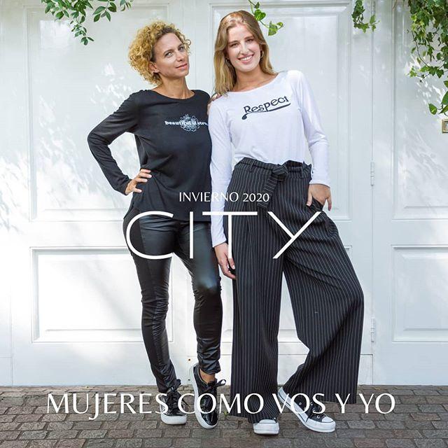 palazzos y remeras mangas largas mujer City Jenifer invierno 2020