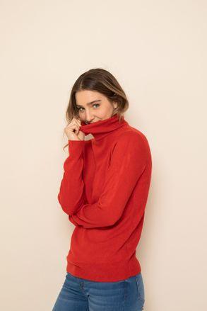 polera lana y jeans Yagmour otoño invierno 2020