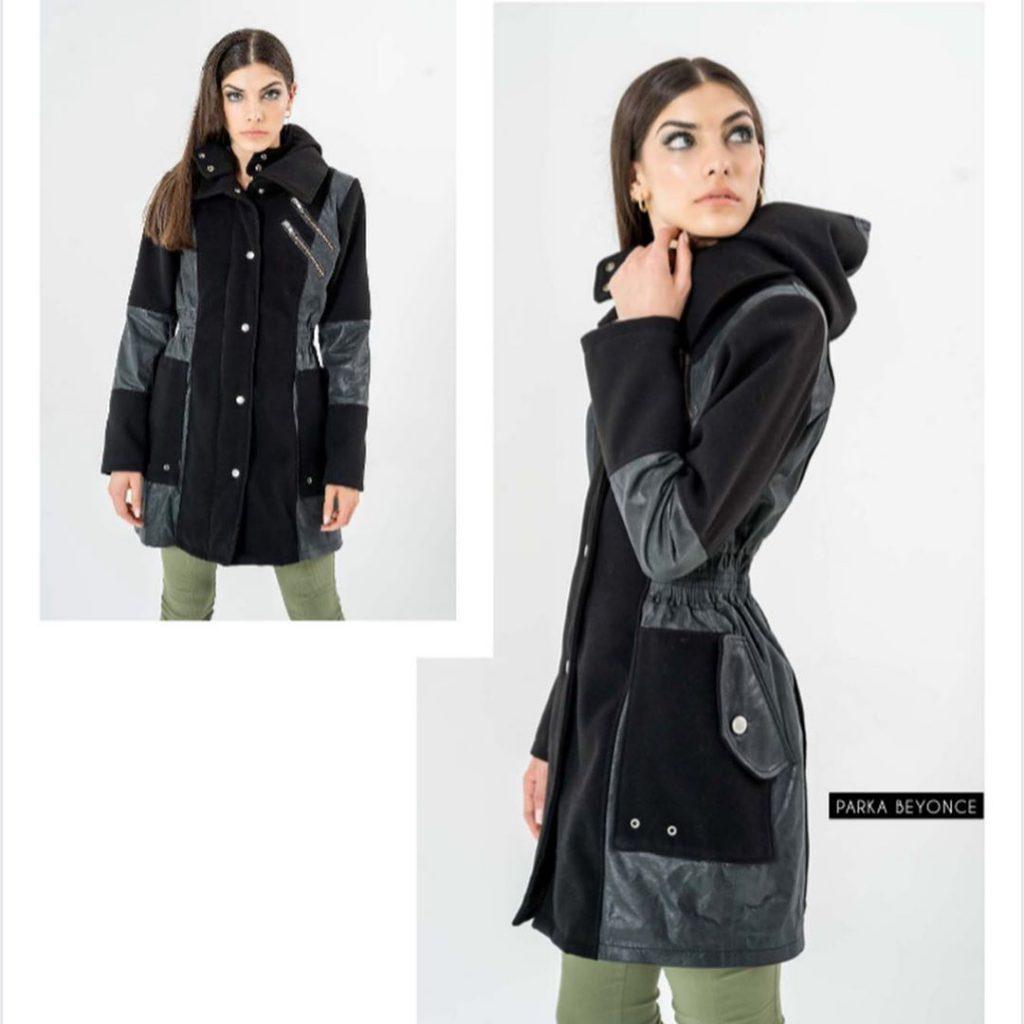 saco abrigo con capucha la cofradia invierno 2020