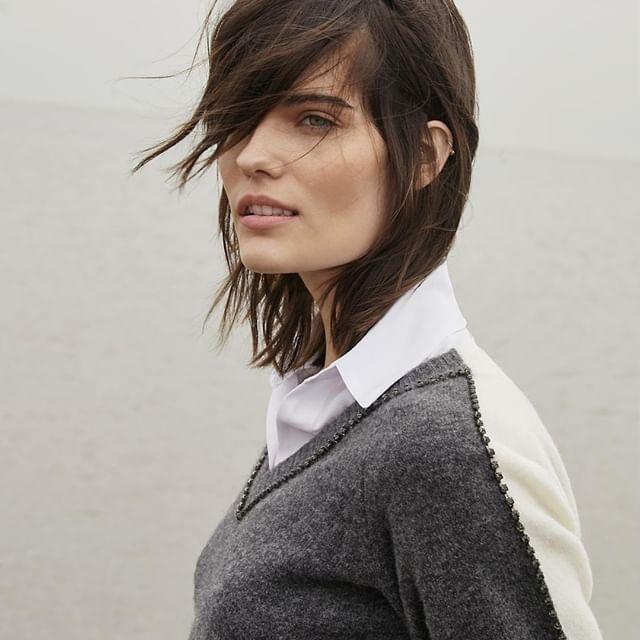 sweater elegante ragael garofalo invierno 2020