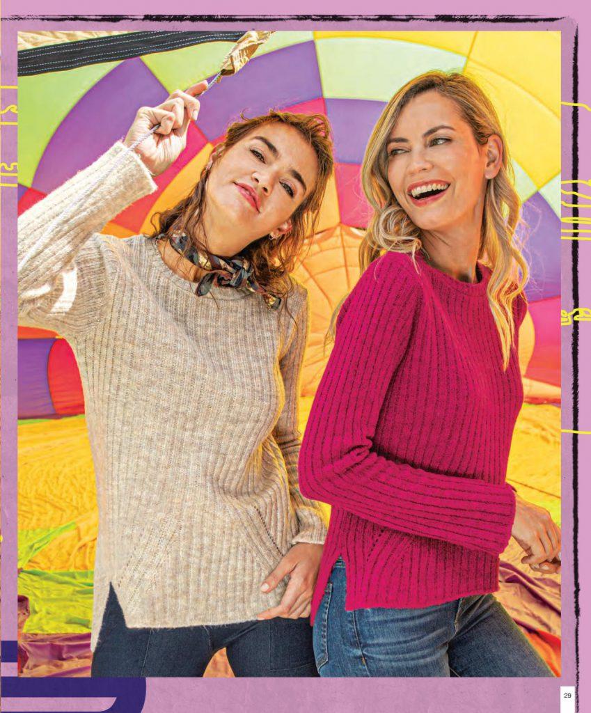 sweater lana mujer martina di trento otoño invierno 2020