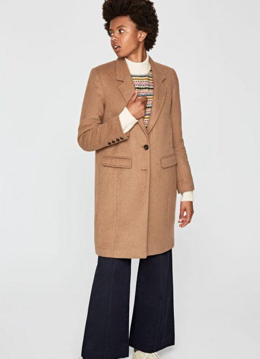 tapado con jeans oxford para mujer invierno 2020 Pepe jeans
