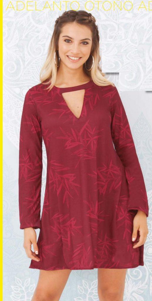 vestido jersey de algodon Juana bonita otoño invierno 2020