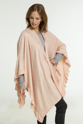 abrigos estilo poncho Nuss Tejidos otoño invierno 2020