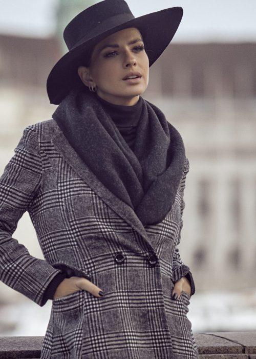 blazer abrigado mujer Vars otoño invierno 2020