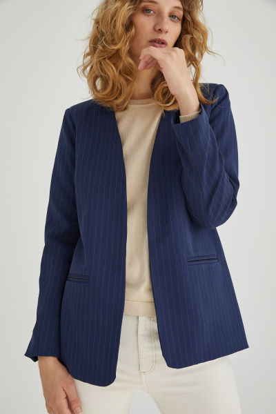 blazer azul mujer Estancias Chiripa invierno 2020