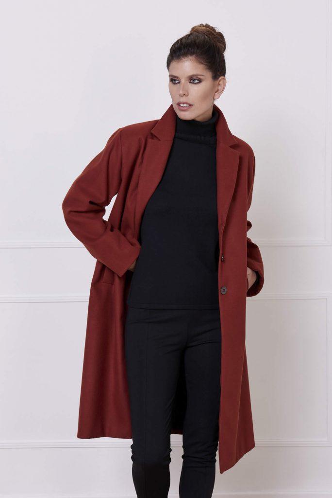 blazer largo invierno 2020 Adriana Costantini