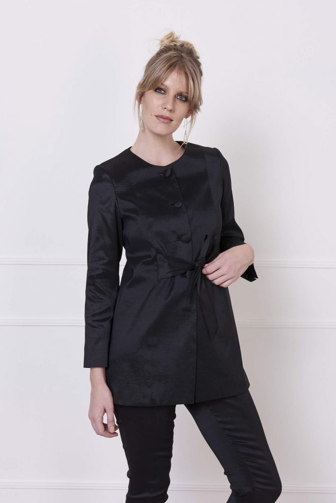 blazer seda invierno 2020 Adriana Costantini