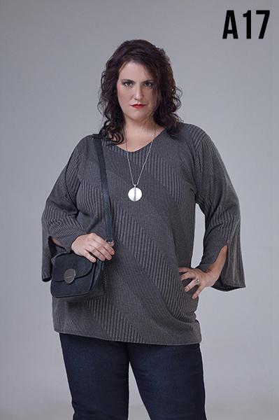 blusas de moda en talles grandes Loren otoño invierno 2020