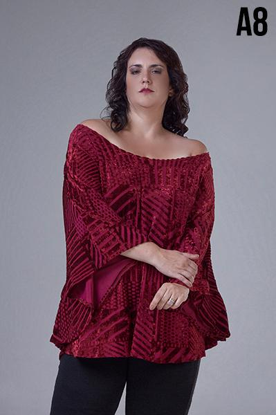 blusas en talles grandes Loren otoño invierno 2020