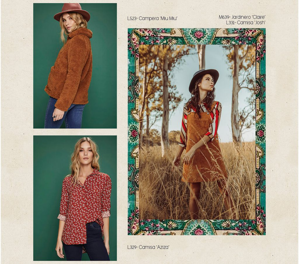 camisas estampadas mujer rimmel otoño invierno 2020