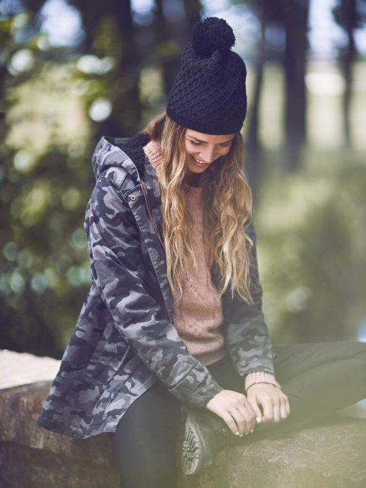 campera camufalda mujer sail otoño invierno 2020