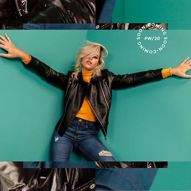 campera de cuero mujer juvenil Af jeans invierno 2020
